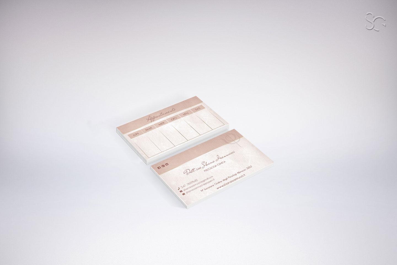 biglietto da visita dottoressa shana ioannucci psicologa clinica l'aquila-ggrafica-stefano-giancola