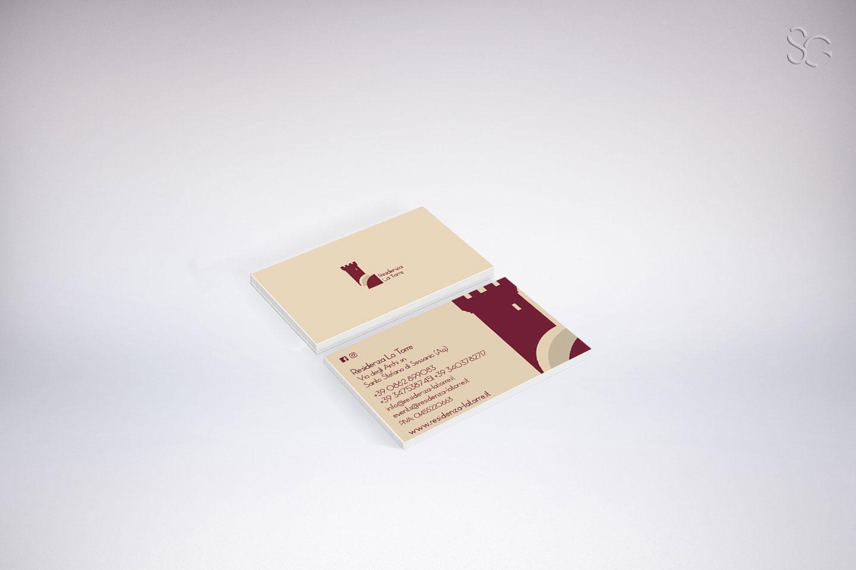 biglietto da visita residenza la torre santo stefano di sessanio-grafica-stefano-giancola