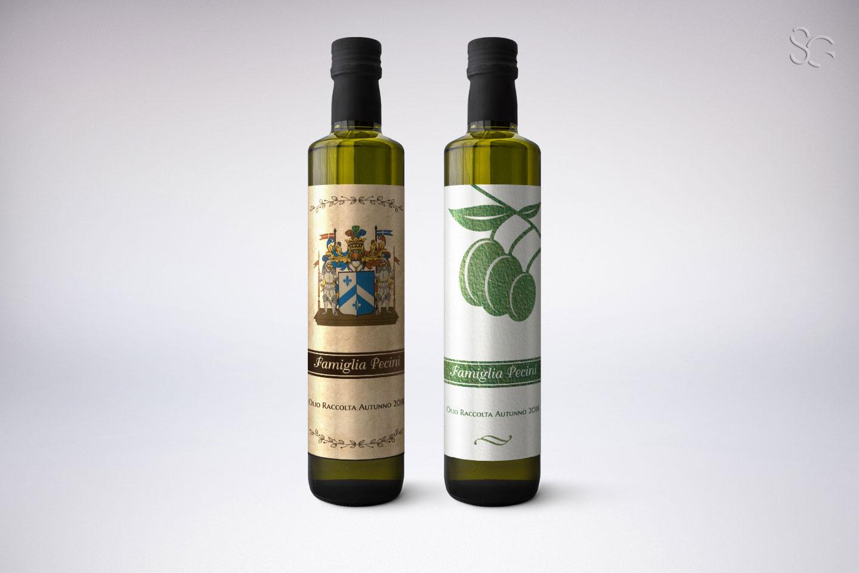 etichette-olio-pecini-grafica-stefano-giancola