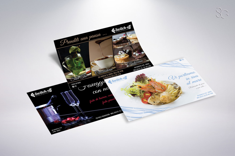 flyer promozionali switch-off-grafica-stefano-giancola