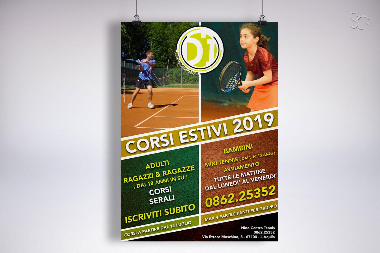locandina-promo-corsi-nino-centro-tennis-laquila-grafica-stefano-giancola