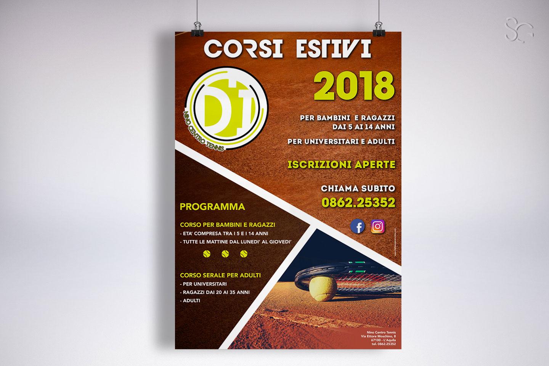 locandina-corsi-estivi-nino-centro-tennis-laquila-grafica-stefano-giancola