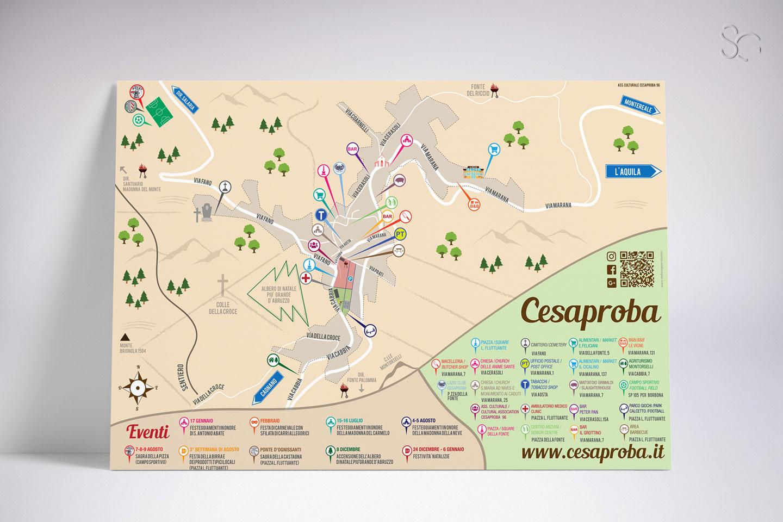 mappa-turistica-cesaproba-grafica-stefano-giancola