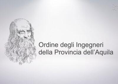 RESTYLING LOGO ORDINE DEGLI INGEGNERI L'AQUILA