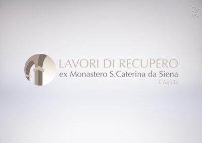 LOGO MIC SRL PER LAVORI DI RECUPERO EX MONASTERO S.CATERINA L'AQUILA